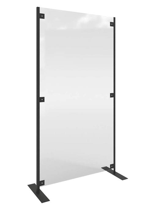 Floor Standing Perspex Protective Screens